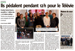 Indoor Cycling Télévie 2017